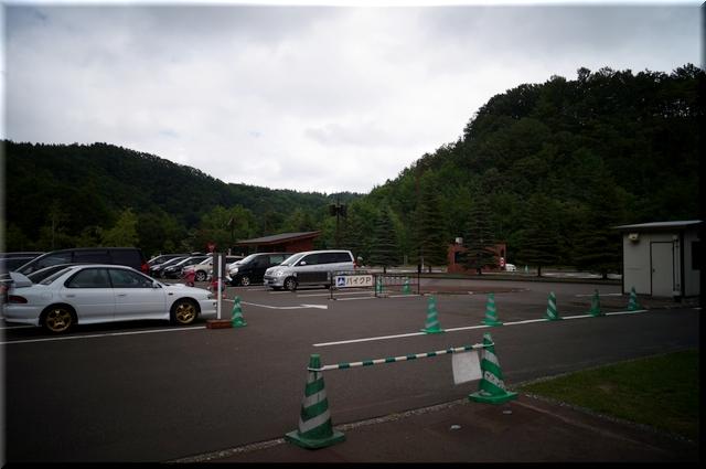 渓流口駐車場