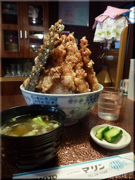 エビ天丼(大盛り)