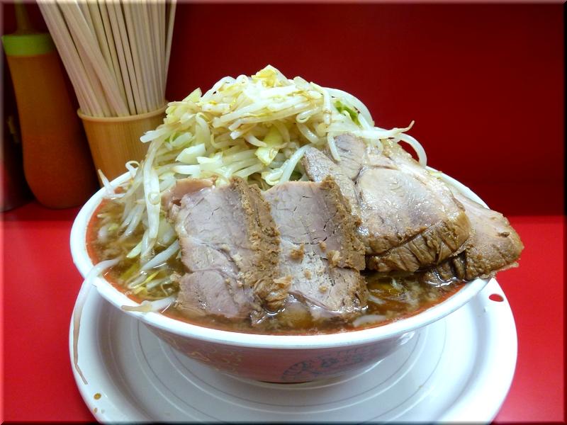上野毛店・麺増し