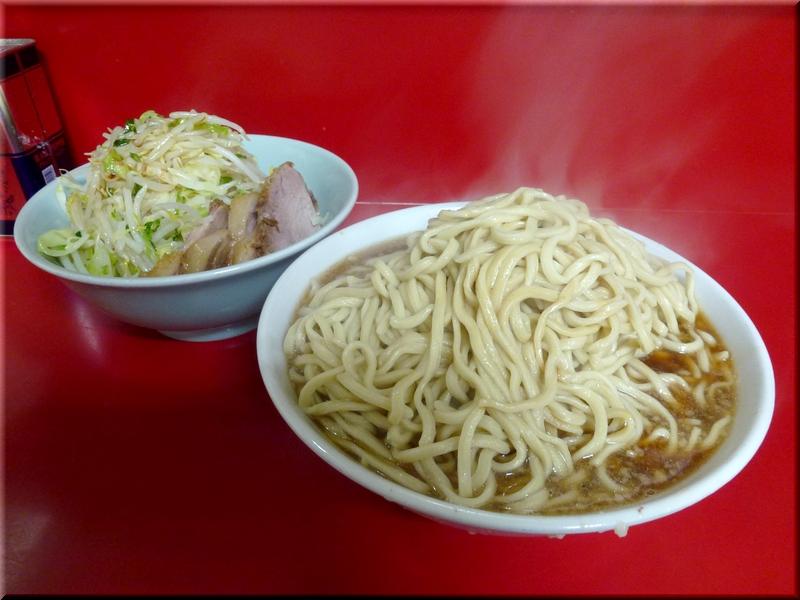 中山駅前店・麺増し