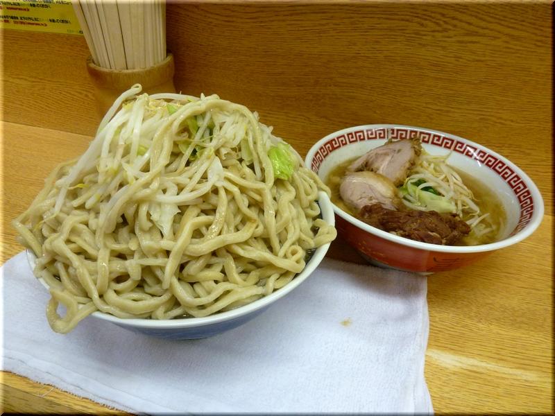 新新代田店・麺増し