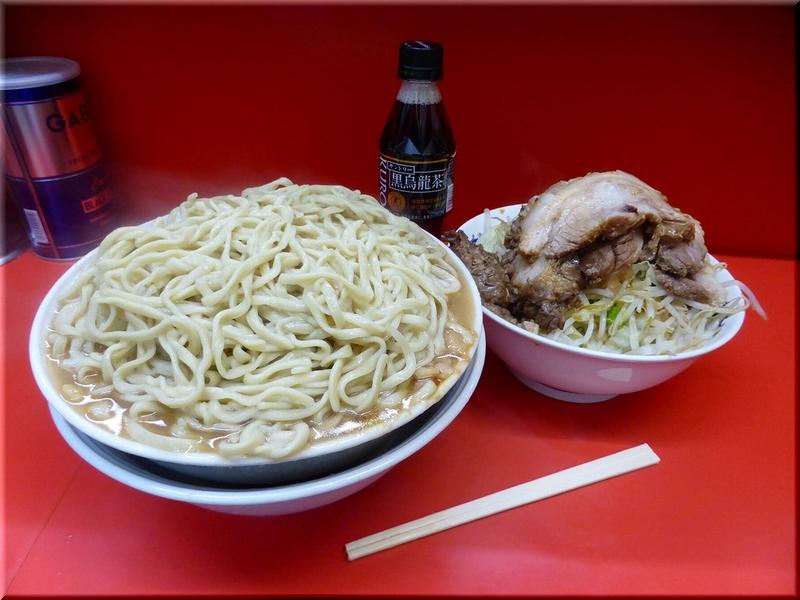 松戸駅前店・麺増し