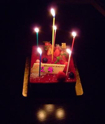 レクール誕生日ケーキ