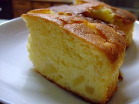 お味噌のりんごケーキ