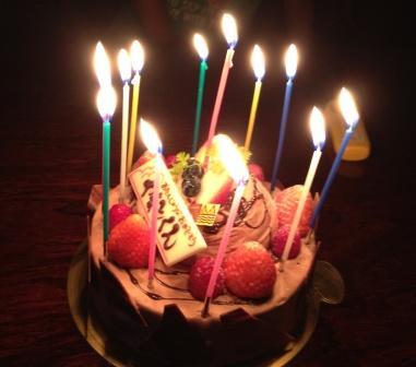 12歳誕生日ケーキ
