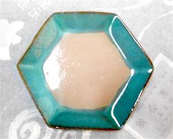 六角形のお皿