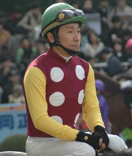 横山典弘騎手です