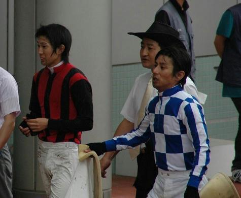 藤岡康太騎手と四位くん