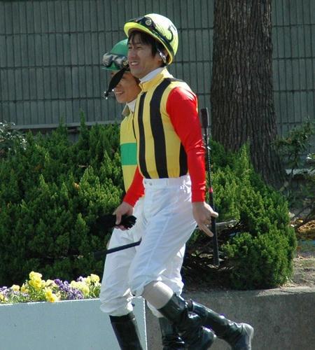 四位くんと岩田騎手2006年5月4日