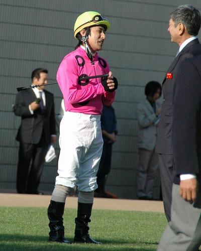 2007年菊花賞のパドック