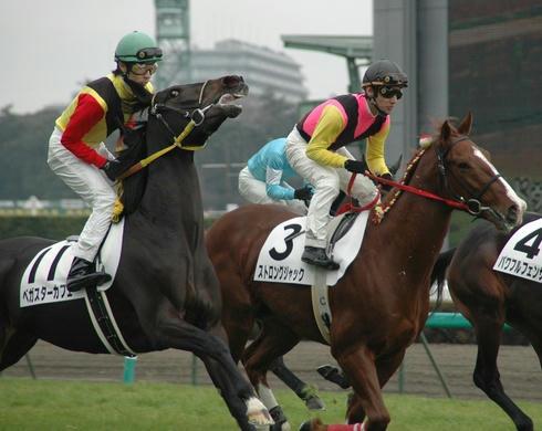 2007年12月23日の新馬戦