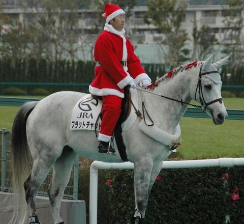 誘導馬-クリスマスバージョン
