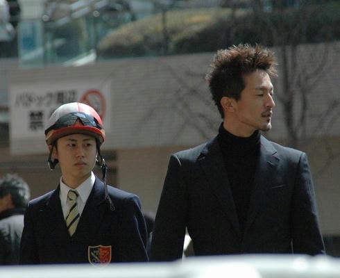 高倉稜くんと崎山厩舎のカッコイイ厩務員さん