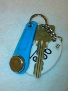 部屋の鍵。