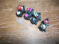 4人の仮面ライダー