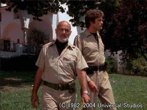 キンケード大佐とマイケル
