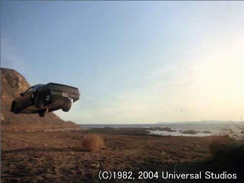 崖上からのターボブーストで駆けつけるキット