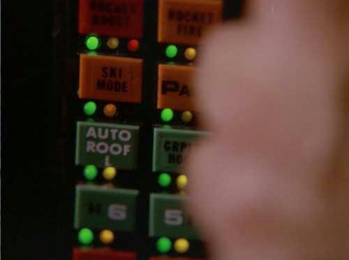 スキーモード発動ボタン。やっぱりボタンの配置が他のアップ時と違う…