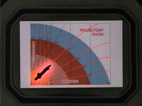 プレス機から逃れるため、ターボブーストの角度を計算