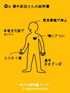 奈流の説明書