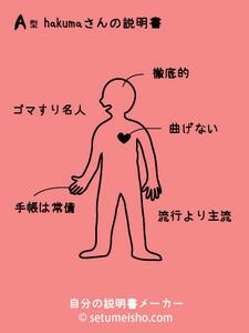 hakumaの説明書