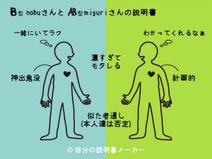 nobuとmiyuriの説明書