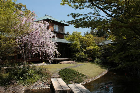 防府天満宮茶室の庭