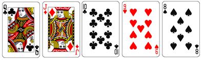 ストレートフラッシュカード
