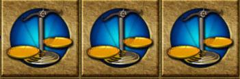 ワイルドジャングルカジノGoldRally天秤絵柄図