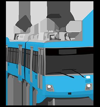 Train 電車 電車の絵 電車のイラスト 青 フリーイラスト 無料