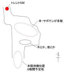 説明(1) 配置図。