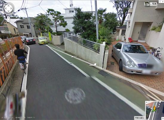世田谷区成城4-20ストリートビュー