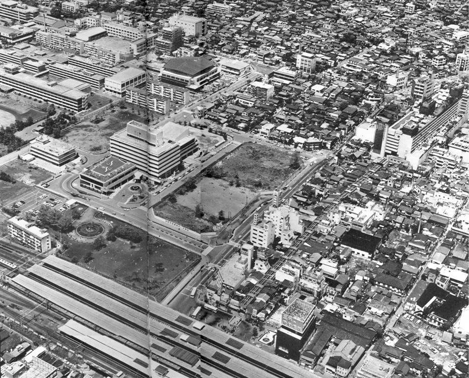 中野駅北口1970