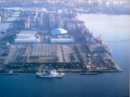 晴海埠頭1990年頃
