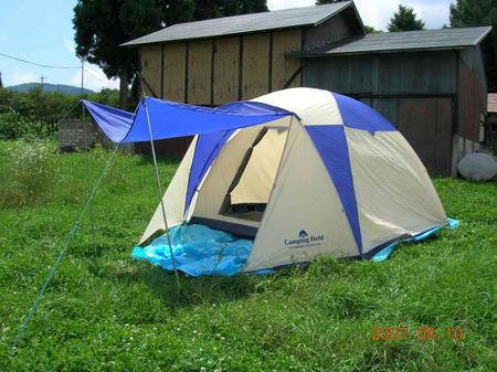 テントその1