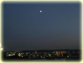 そろそろ満月?