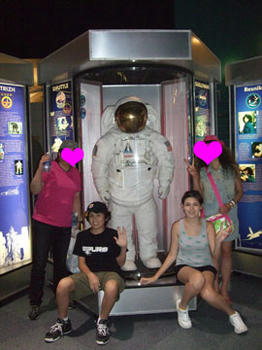 アポロの時に実際に使った宇宙服