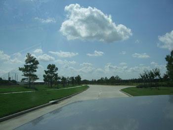 本当にキレイな空だった…