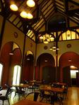 伝承館の中の喫茶店。2階にカウンターがあってコーヒーとか飲めます。
