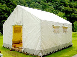 常設テント 全景