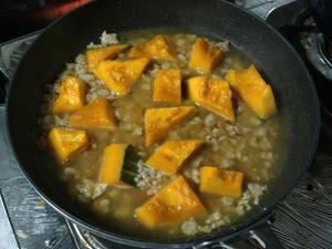 簡単料理レシピ,かぼちゃのそぼろ煮の作り方