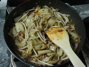 簡単料理レシピ,麻婆白菜風炒めものの作り方
