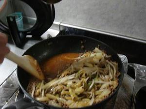 簡単料理レシピ,マーボー白菜風炒めものの作り方