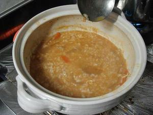 簡単料理レシピ,キムチ鍋の残り汁で簡単キムチ雑炊