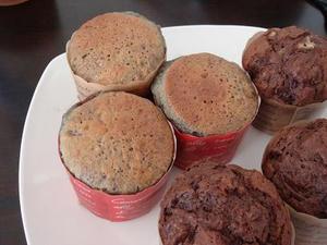 簡単料理レシピ,おやつやバレンタインにホットケーキミックスで作るブルーベリーマフィン