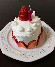 赤ちゃん用ケーキ,ベビー用クリスマスケーキ,1歳のバースデーケーキ,作り方,ヨーグルト水切り
