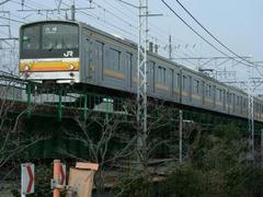 070121南武線電車