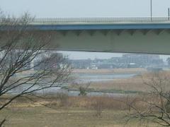 070304春の陽気の多摩川