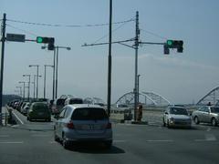 070321鶴川街道と多摩川大橋