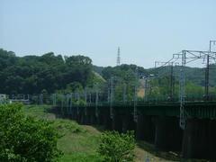 南武線多摩川鉄橋